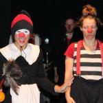 Berit & Israelischer Clown