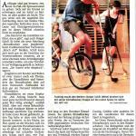 SZ-Artikel zum Einradhockey 15.11.2012